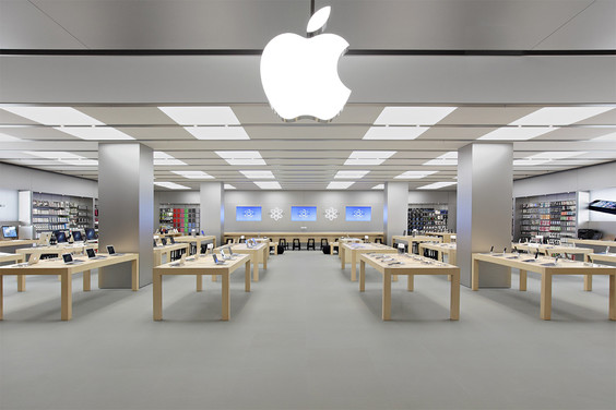Apple Store is a chain of retail stores owned and operated by Apple Inc. The stores sell Mac personal computers, iPhone smartphones, iPad tablet computers, iPod portable media players, Apple Watch smartwatches, Apple TV digital media players, software, and select third-party accessories.