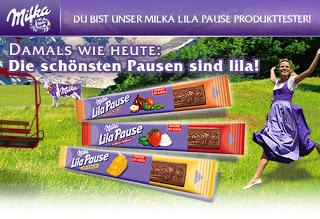 Ulli-Frechdachs: Ich bin Produkttester für die Milka Lila Pause!!!